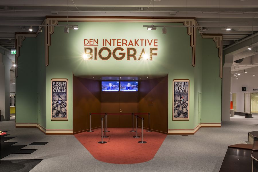 biograffen Experimentarium interactive film theatre