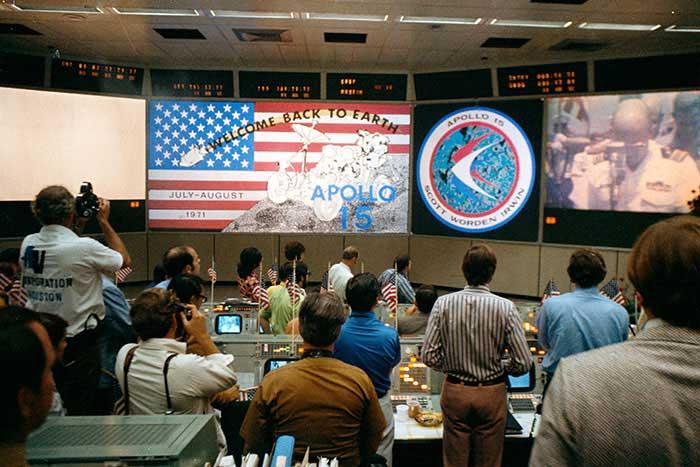 NASA Apollo 15 Mission Control Webster Challenge