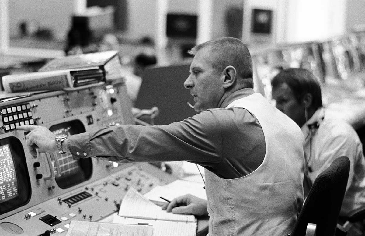NASA webster challenge mission control apollo 16