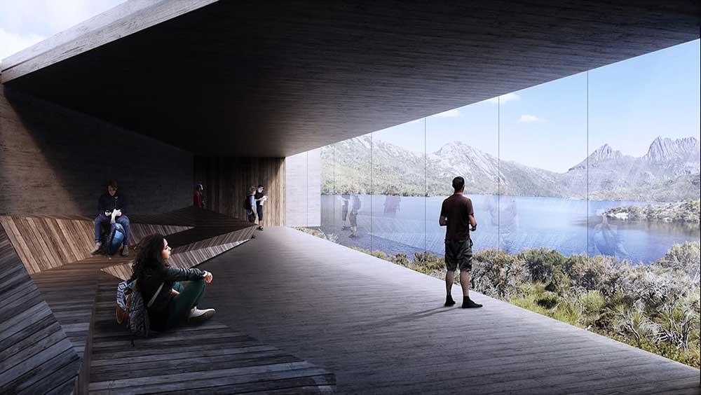 visitor centre cradle mountain dove lake