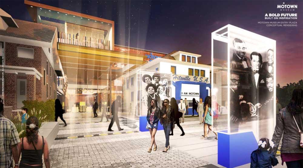 Motown Museum concept art