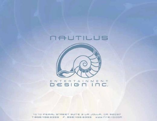 Nautilus Entertainment Design Logo