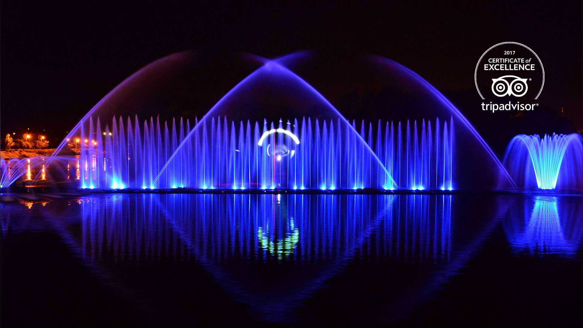 inventions show multimedia fountain roshen Emotion Media Factory