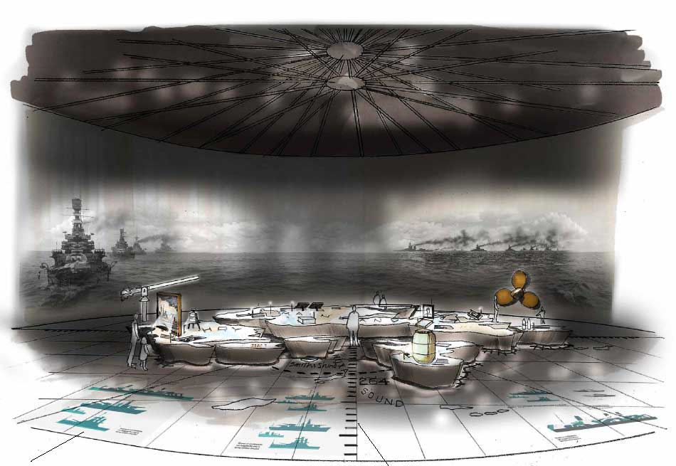 Scapa Flow oil tank studio MB