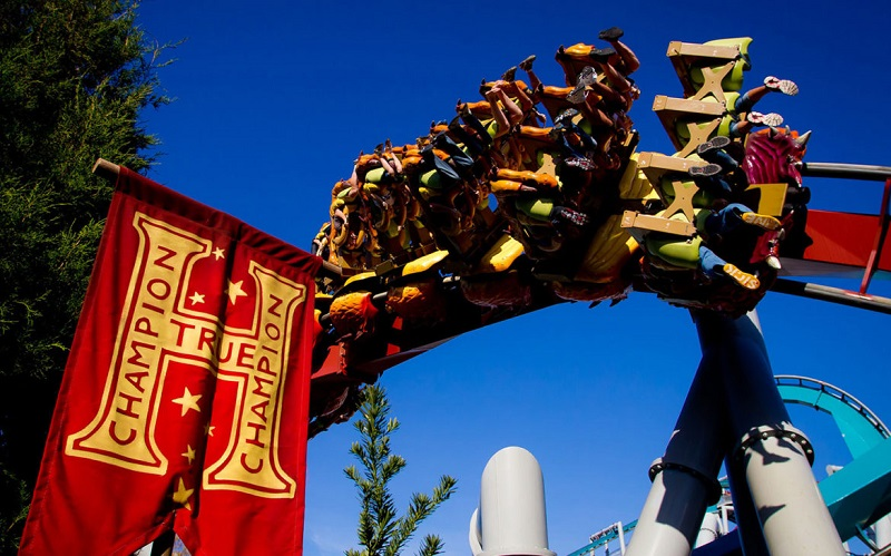 Dragon Challenge Hogsmeade Universal Studios Orlando