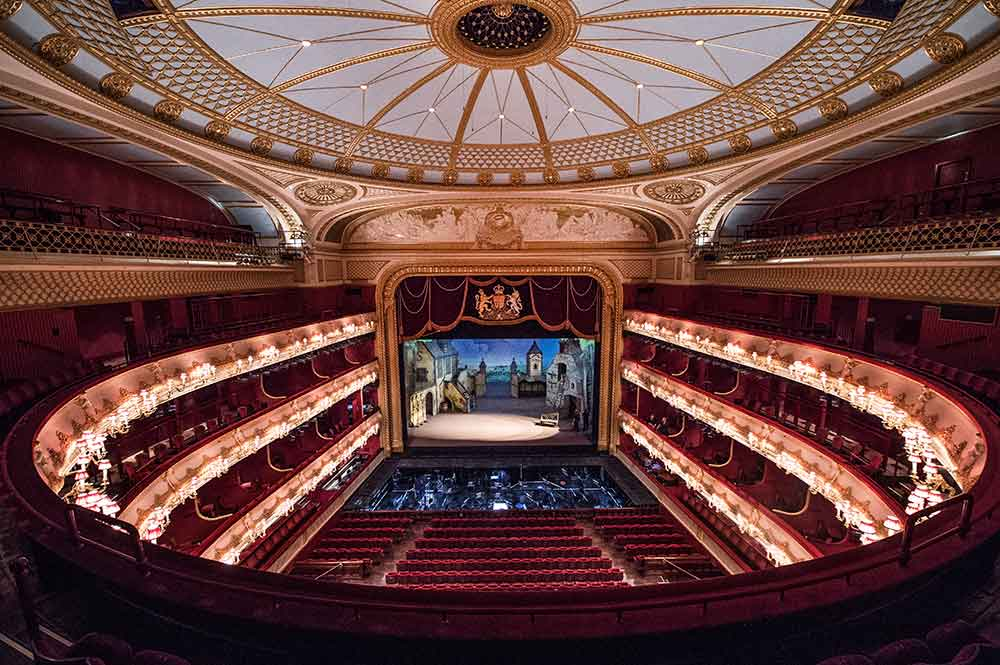 Royal Opera House technical auditorium