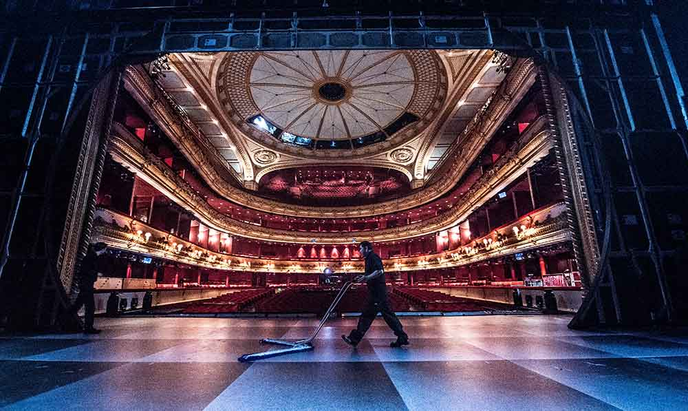 Royal Opera House technical auditorium