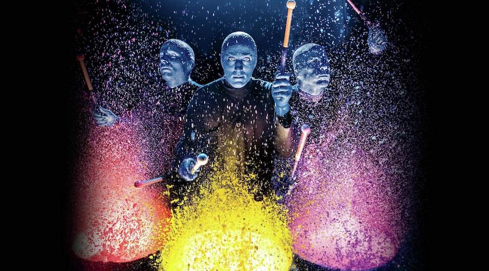 Blue Man Group Cirque du Soleil