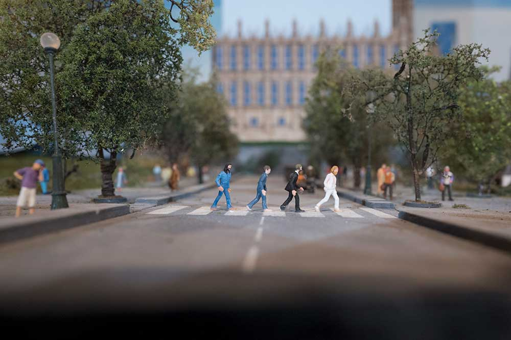 beatles abbey road Gulliver's Gate