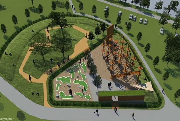 Mote Park Maidstone playground
