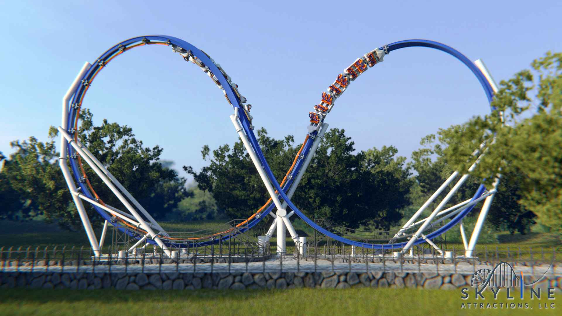 Big thrills, small footprint: Ride Entertainment and Skyline Attractions celebrate sale of first Skywarp