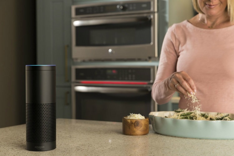 Amazon Alexa cooking