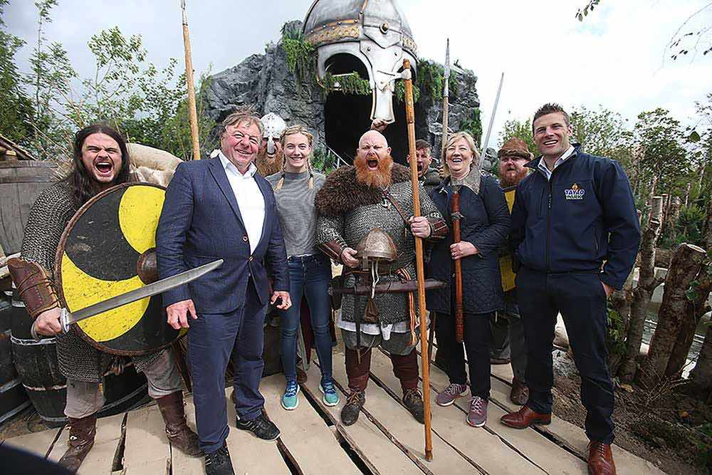 charles coyle and co Viking Voyage Tayto Park