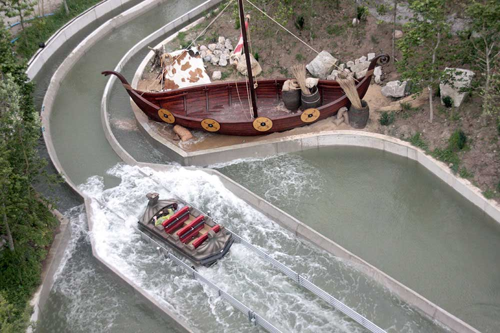 layout Viking Voyage Tayto Park