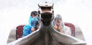 soaked Viking Voyage Tayto Park