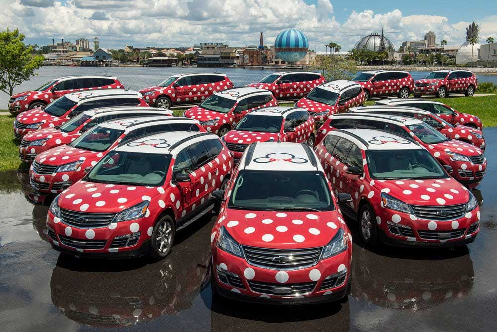 Lyft Minnie Vans