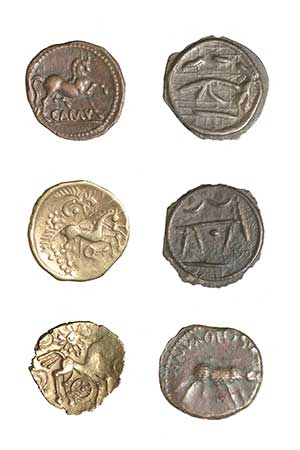 iron age coins from the museum of london