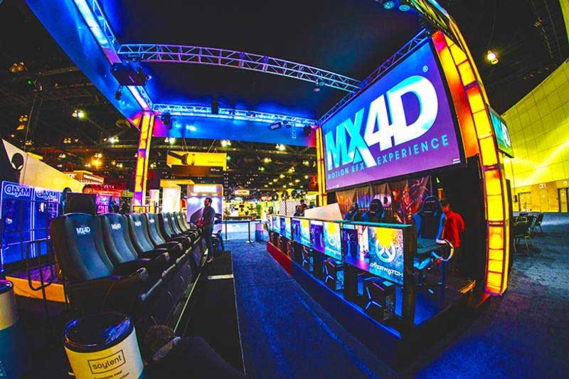 MediaMation MX4D b&b theatres hybrid-esports theatre cinemacon