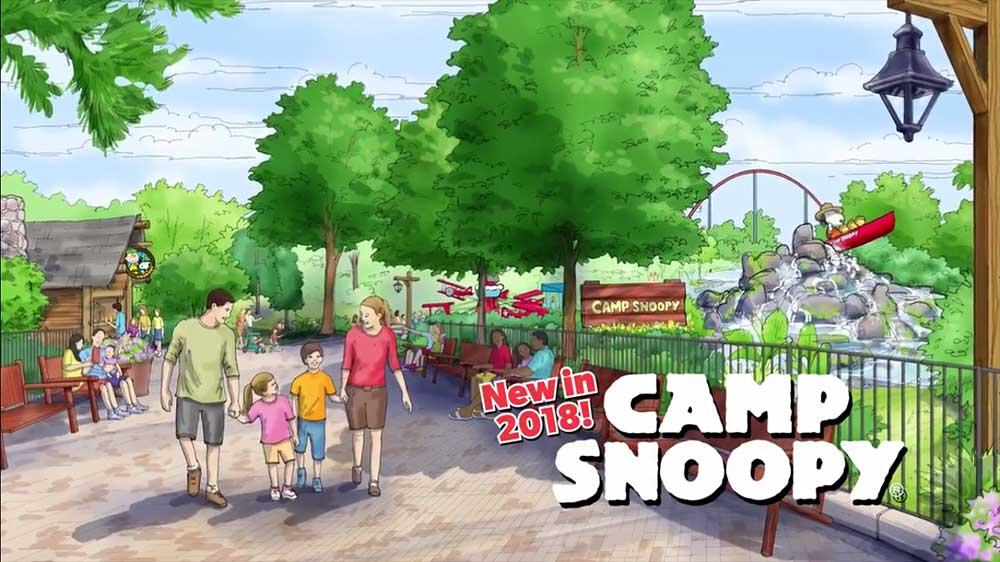 Carowinds camp snoopy