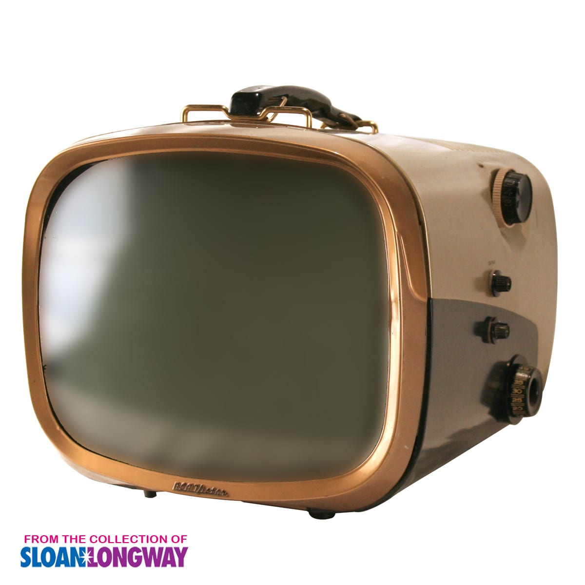 An old television from the collection of the Sloan Museum