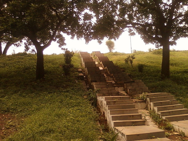 Steps at Mudasarlova Park