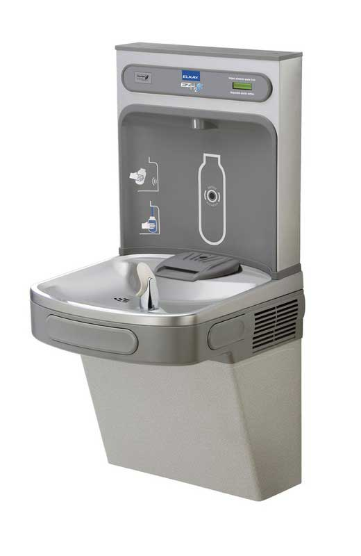 NPS water bottle filling station replaces plastic bottles