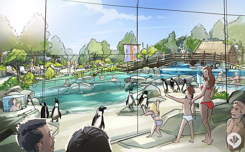 spreewelten Waterpark future concept dan pearlman
