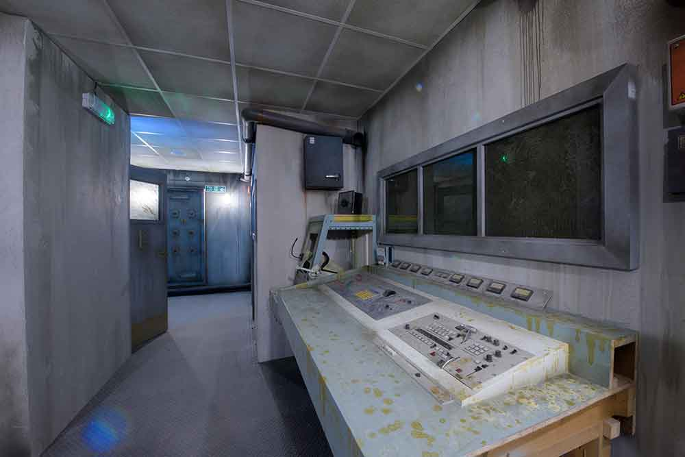 Crystal Maze control room