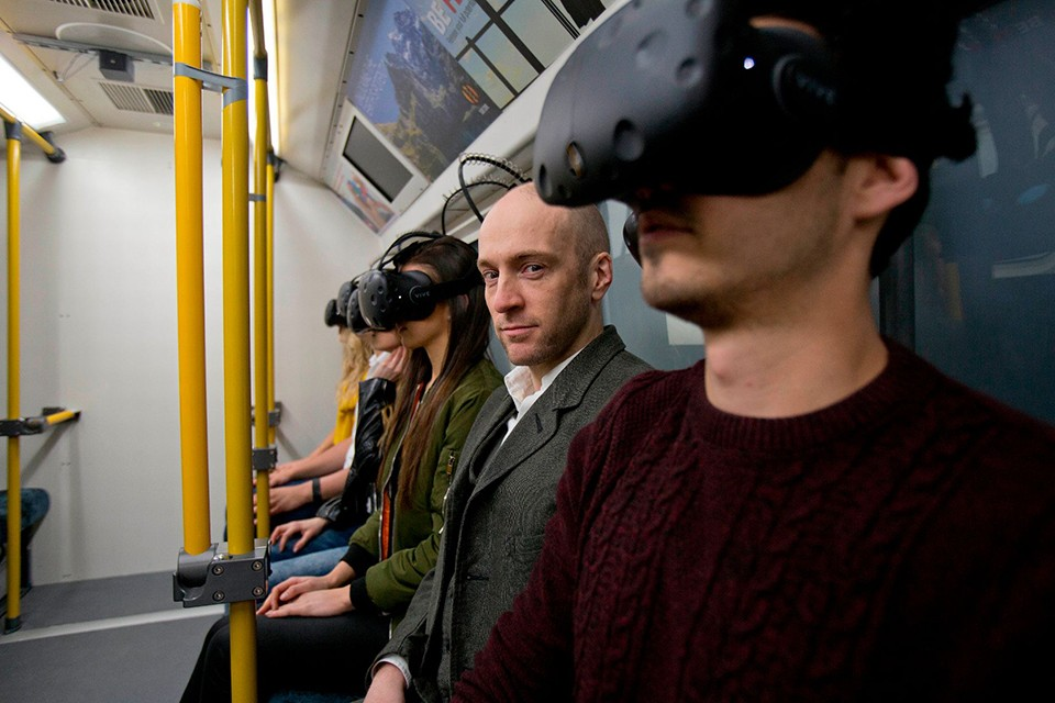 Thorpe park VR experiences derren brown