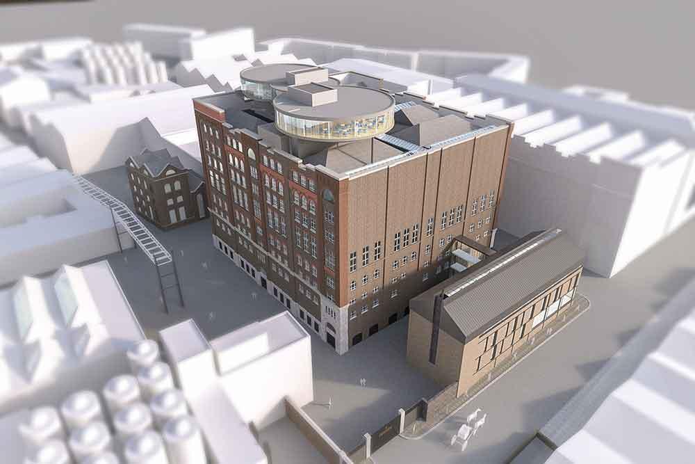 Guinness Storehouse development cgi