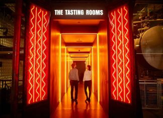 Guinness Storehouse tasting rooms bompas and parr