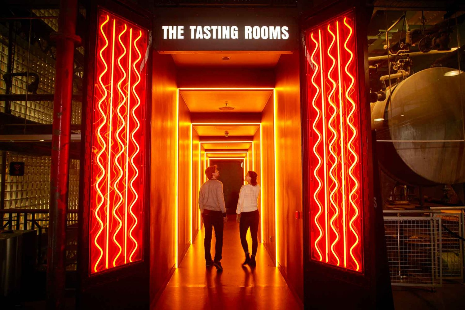 Guinness Storehouse tasting rooms bompas and parr dublin