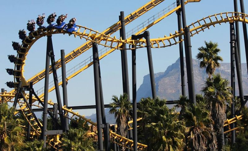 Ratanga Junction roller coaster