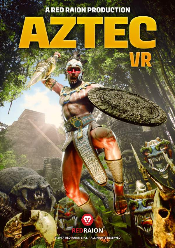 Aztec VR Red Raion Euro Attractions Show
