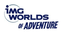 IMG worlds of adventure logo
