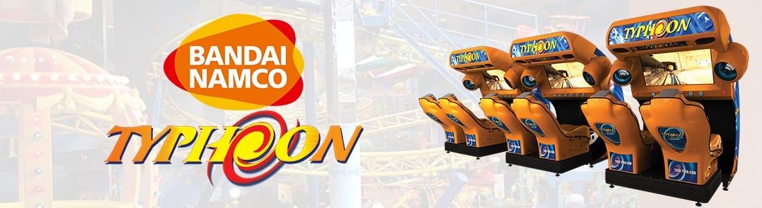 Triotech awards Bandai Namco exclusive UK distribution for Typhoon simulator