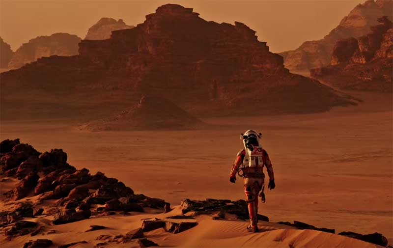 the martian- mars village base planned in China, KSCVC astronaut life on mars
