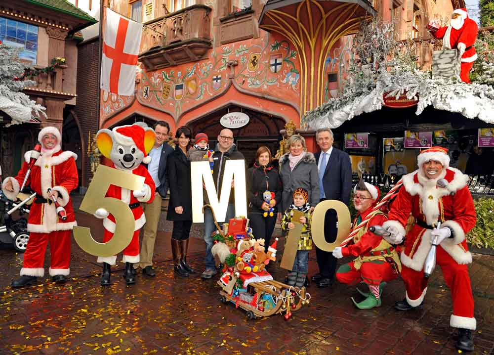 europa-park 5 million visitors christmas