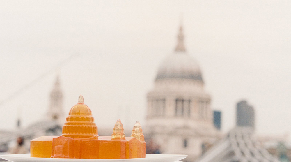 St Pauls jelly Bompas and Parr