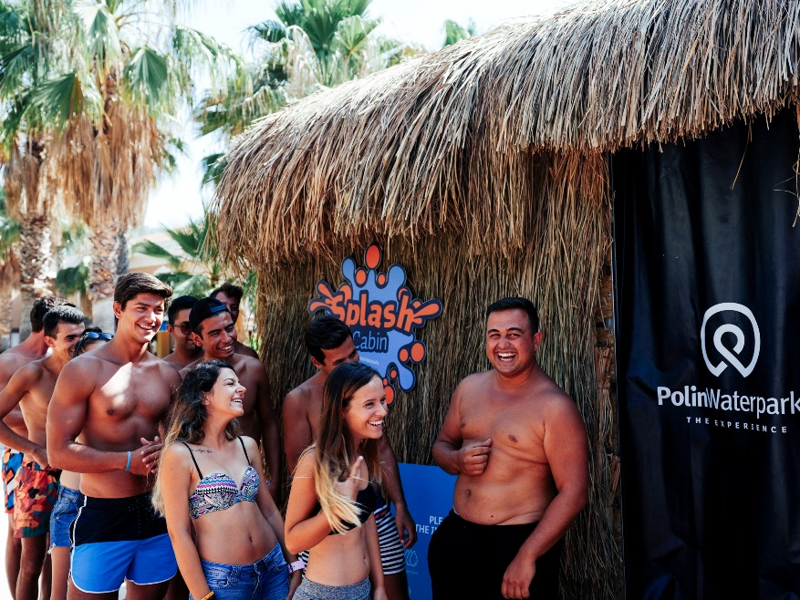 Polin's industry-first interactive water-powered game Splash Cabin opens at Aquafantasy Waterpark