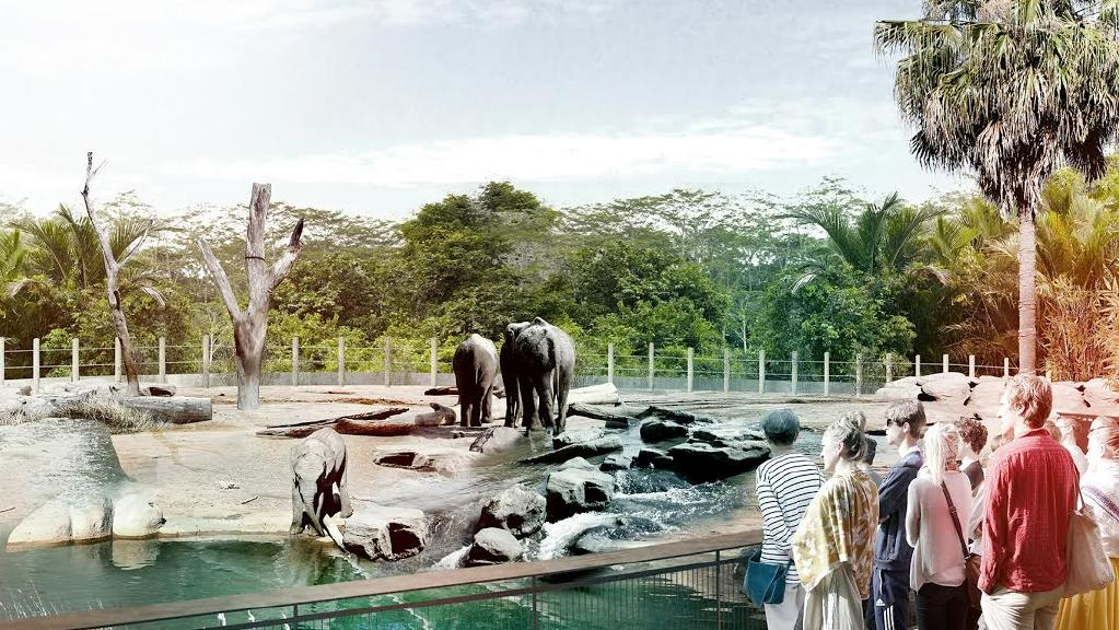 Bungarribee Zoo $36 million zoo planned for Western Sydney