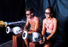 Polin and Lagotronics to unveil new VR Splash Cabin water-powered game at EAS 2017