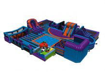 inflata nation inflatable theme park slide