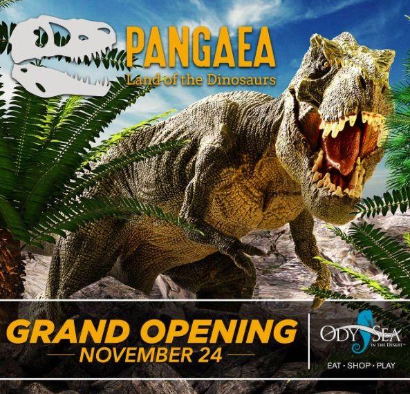 Pangaea Land of the dinosaurs at odysea arizona