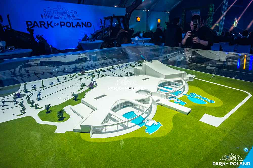 european theme park operator park of poland opening ceremony
