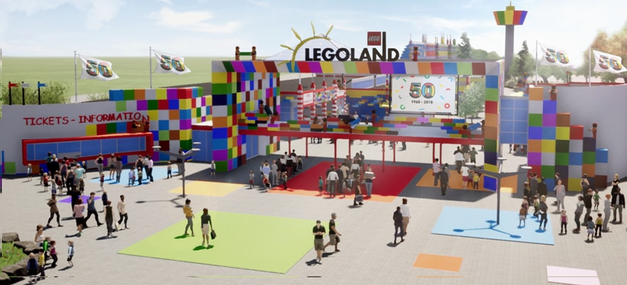 LEGOLAND Billund marks 50th anniversary with new Flying Eagle coaster and more