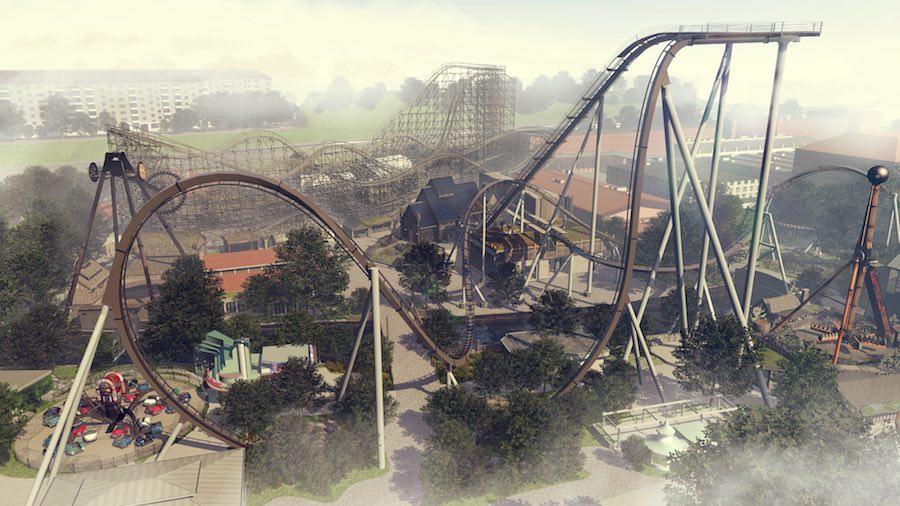 Valkyria rollercoaster liseberg