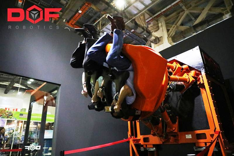 Meet DOF Robotics at the Euro Attractions Show Berlin