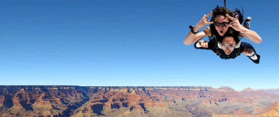 365Tickets USA announces new partnership with the Grand Canyon's Paragon Skydive