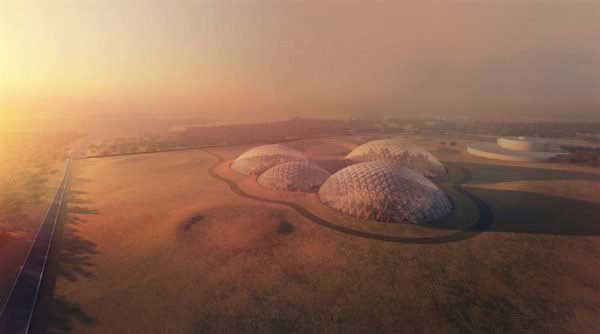 UAE to build $132mn mock 'Martian City' in the desert